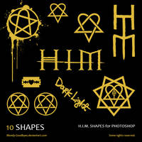 HIM Shapes by Bloody-Goodbyes