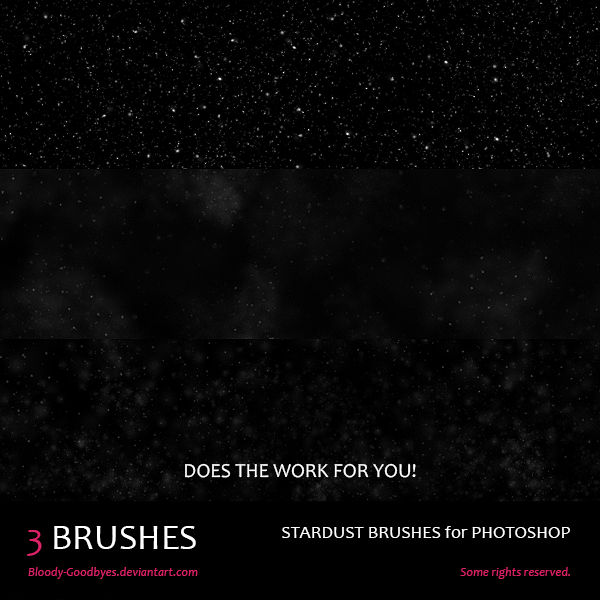 Stardust Brushes