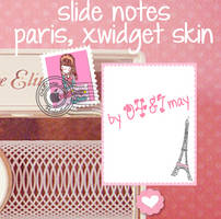 NOTES SLIDE, XWIDGET SKIN by may0487