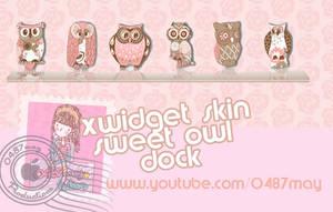 Buhos pink, Xwidget Skin by may0487