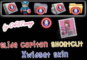 Capitan America, Slide Xwidget by may0487