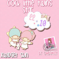 Little twin, Clock, Xwidget