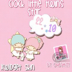 Little twin, Clock, Xwidget by may0487