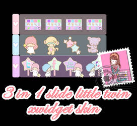 Little twin, Slide 3 in 1 for Xwidget