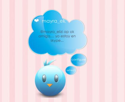 Twitter Bird Notifications Xwidget by may0487