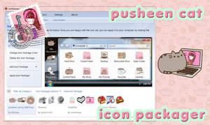 Tema de Pusheen Cat, IconPackager