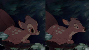 Bambi Redraw - Little Bambi
