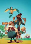 Pirates Cover Process