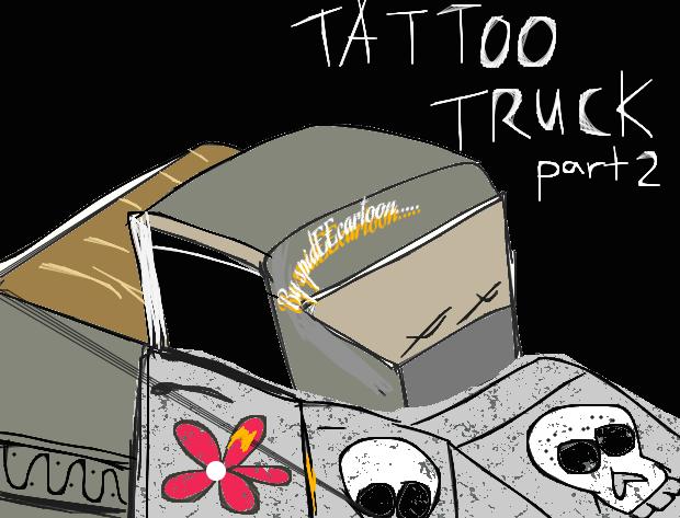 Tattoo truck II by Spideecartoon