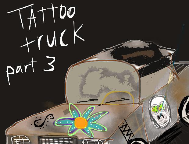 Tattoo truck part III by Spideecartoon