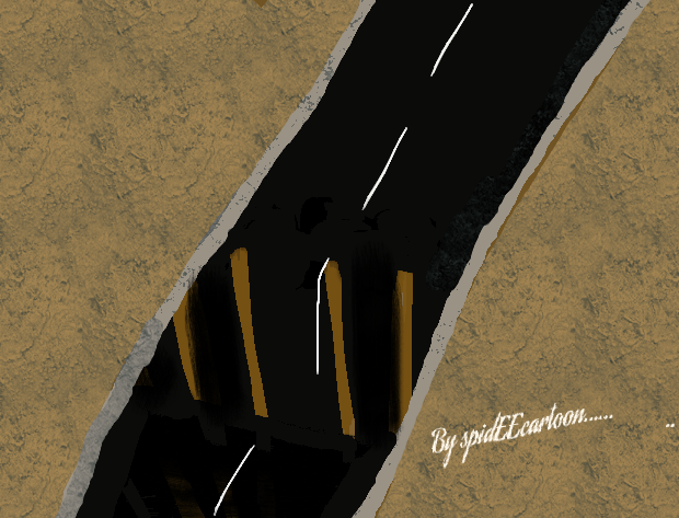 Road break by Spideecartoon
