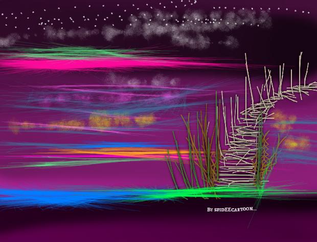 Neon by Spideecartoon