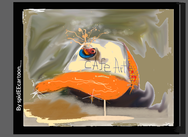 Coffee hit by Spideecartoon