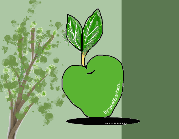 Big Apple by Spideecartoon