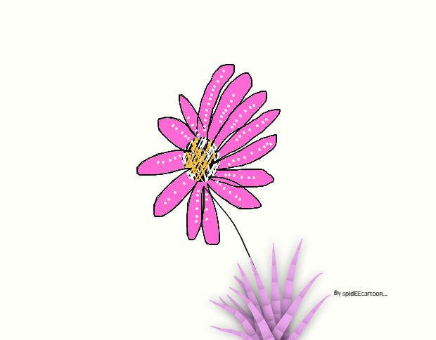 Flower by Spideecartoon