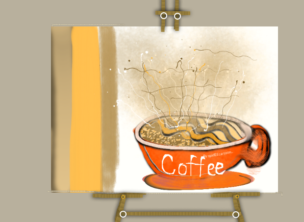 Cafe fix by Spideecartoon