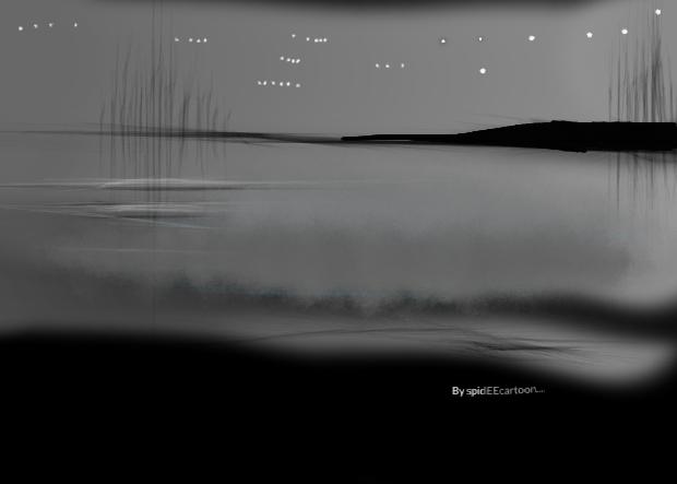Still night by Spideecartoon