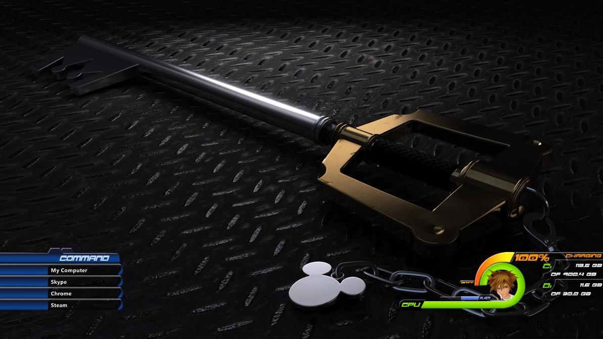 Kingdom Hearts III Rainmeter Theme by Sir-Eagle