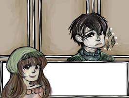 The Elevator: Dating Sim by waffrus