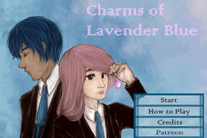 Charms of Lavender Blue by waffrus
