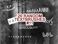Random Textbrushes number 11 by mata80