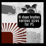 Shape Brushes for Photoshop II