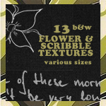 Flower and Scribble Textures