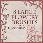 Flowery Brushes