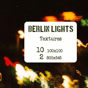 Berlin Lights - Textures by mata80