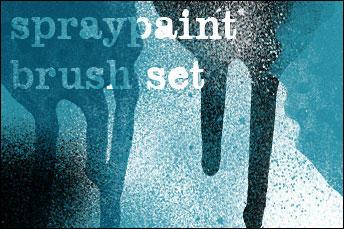 spraypaint brush set by doven