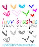 Luvv Brushes -- Photoshop