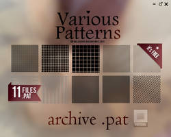 11 Various Patterns