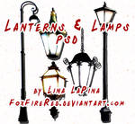 Lanterns and Lamps PSD