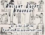 Ancient Egypt Brushes