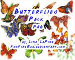 Butterflies PSD