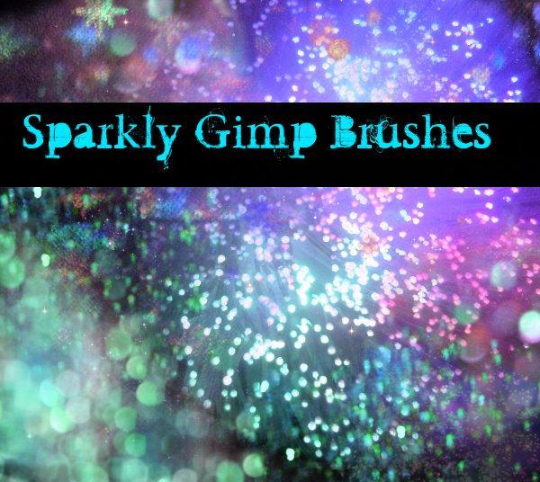 Sparkly.Glittery GIMP Brushes by MyLastBlkRose