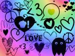 Hearts.Love.Peace GIMP Brushes