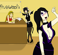 Another Day at Hypnowool's by Black--Wave