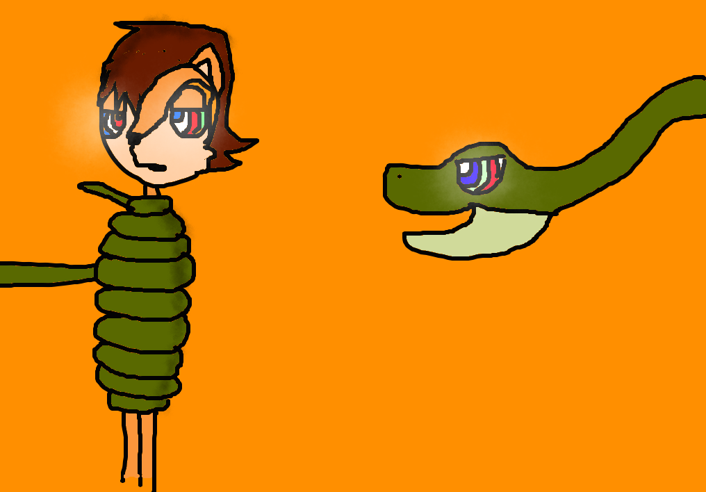 Sally and The Hypno Snake by HypnoSwagger on DeviantArt