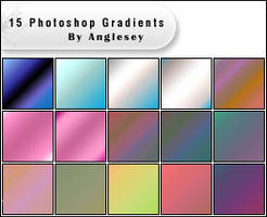 Photoshop Gradients by anglesey
