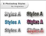 Photoshop Styles A