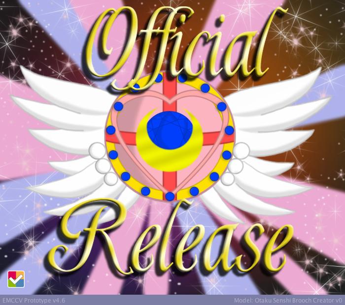 Otaku Senshi Brooch Maker v1.1 by CrystalSetsuna