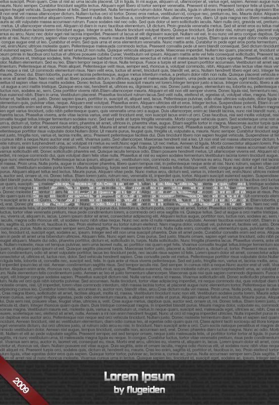 Lorem Ipsum by flugeiden