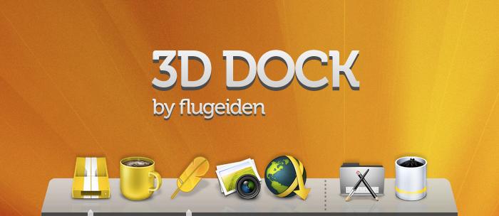 3D Dock by flugeiden