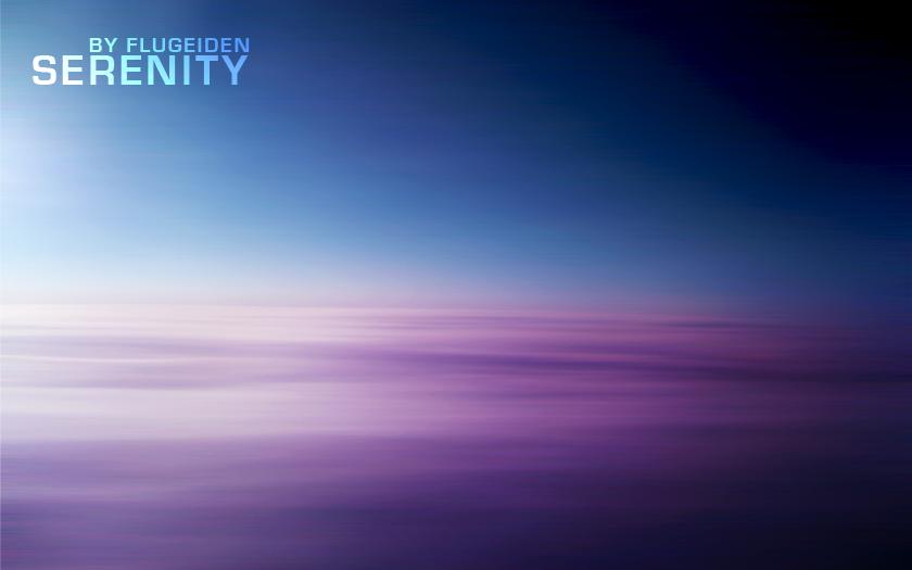Serenity - Wallpaper by flugeiden