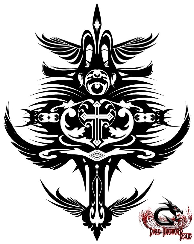 Tribal Death Tattoo: Tribal_Angel Of Death By DiabloUNDERWRLD On DeviantArt
