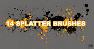 Ultimate splatter brushes two