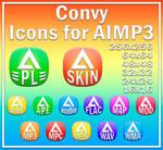 Convy Audio. Icons for AIMP3 by Aleksandr009