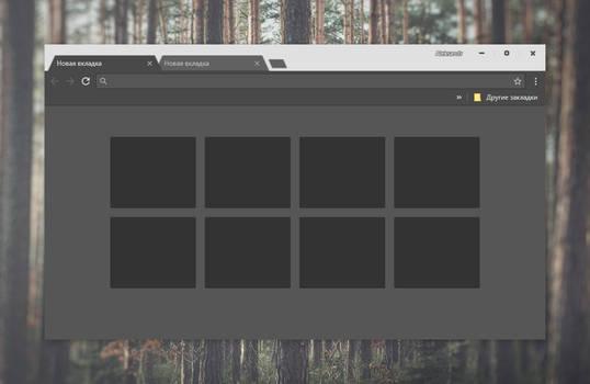 GROVE Dark theme for Chrome