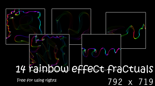 Peewee : 23 Brillant particle effects / 13 Rainbow Fractals [Recomendado!]. Rainbow_Fractals_resource_by_peewee1002